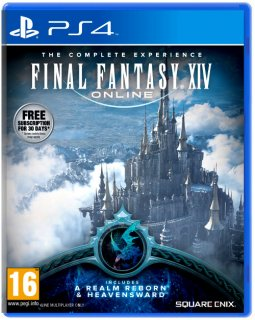 Диск Final Fantasy XIV Heavensward + A Realm Reborne (для Рус PSN) [PS4]