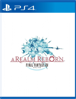 Диск Final Fantasy XIV: A Realm Reborn (Б/У) [PS4]
