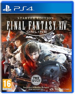 Диск Final Fantasy XIV: Starter Edition [PS4]