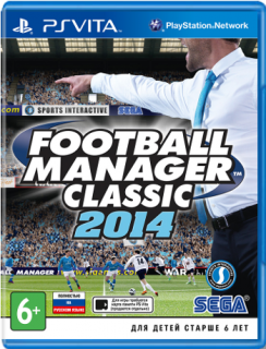 Диск Football Manager 2014 Classic [PS Vita]