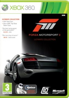 Диск Forza Motorsport 3 Ultimate Edition [X360]