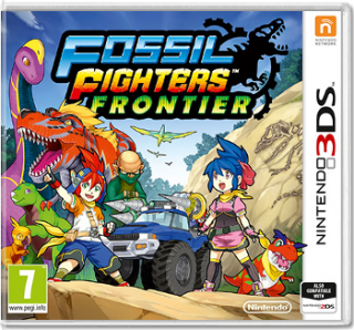 Диск Fossil Fighters Frontier (Б/У) [3DS]