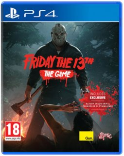 Диск Friday the 13th: The Game [PS4]