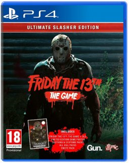 Диск Friday the 13th: The Game - Ultimate Slasher Edition [PS4]