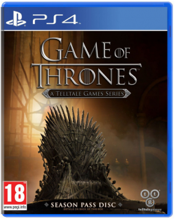 Диск Game of Thrones - A Telltale Games Series: Season Pass Disc [PS4]