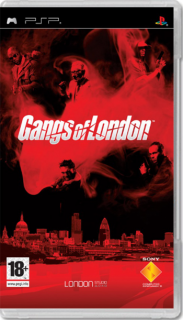 Диск Gangs of London (Б/У) [PSP]