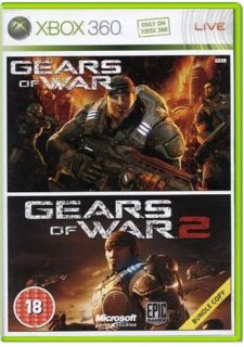 Диск Gears of War 1 and 2 Double Pack (Б/У) [X360]