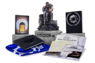 Диск Gears of War 3. Epic Edition [X360]