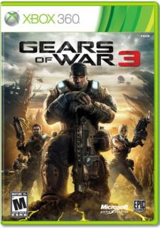 Диск Gears of War 3 (US) (Б/У) [X360]