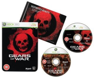 Диск Gears of War. Classics - Limited Edition (Б/У) [X360]