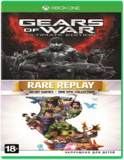 Диск Gears of War: Ultimate Edition + Rare Replay [Xbox One]