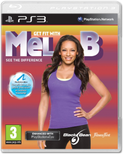 Диск Get FIT with MEL B + Эспандер [PS3, PS Move]