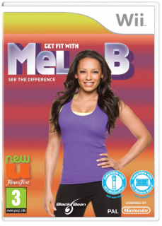 Диск Get FIT with MEL B [Wii]
