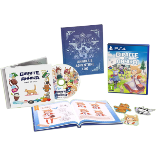 Диск Giraffe and Annika - Musical Mayhem Edition [PS4]