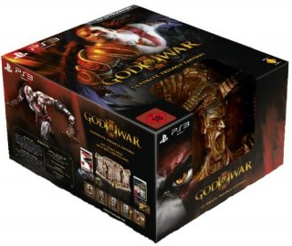 Диск God of War 3 Ultimate Trilogy Edition [PS3]