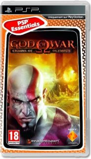 Диск God of War: Chains of Olympus (Б/У) [PSP]