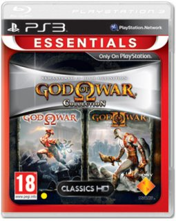 Диск God of War Collection 1 (Англ. Яз.) [PS3]