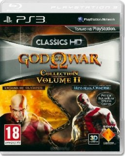 Диск God of War Collection 2 (Б/У) [PS3]
