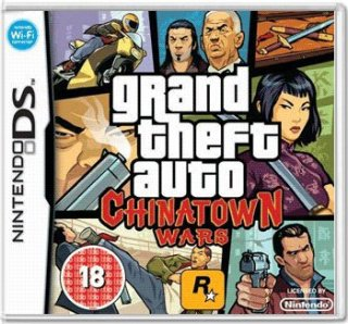 Диск Grand Theft Auto: Chinatown Wars [DS]