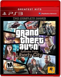 Диск Grand Theft Auto: Episodes from Liberty City [Hits] US (Б/У) [PS3]