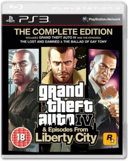 Диск Grand Theft Auto IV Complete Edition (Б/У) [PS3]