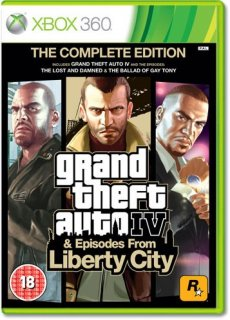 Диск Grand Theft Auto IV. Complete Edition [X360]