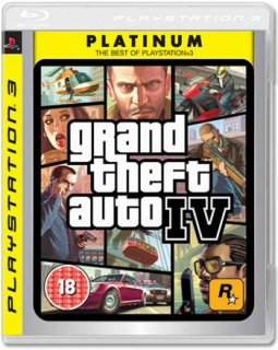 Диск Grand Theft Auto IV (Platinum) [PS3]