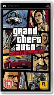 Диск Grand Theft Auto Liberty City Stories (Б/У) [PSP]