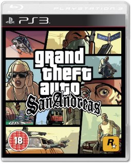 Диск Grand Theft Auto: San Andreas [PS3]