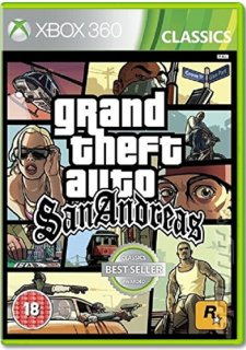 Диск Grand Theft Auto: San Andreas (Б/У) [X360]