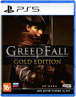 Диск GreedFall - Gold Edition [PS5]