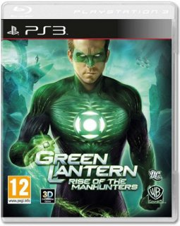 Диск Green Lantern: Rise of the Manhunters [PS3]