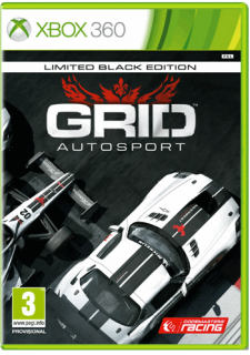 Диск GRID Autosport - Black Edition [X360]