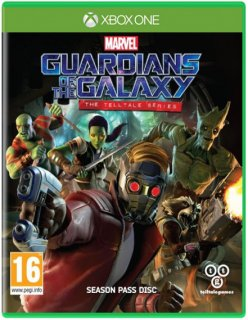 Диск Guardians of the Galaxy: The Telltale Series [Xbox One]