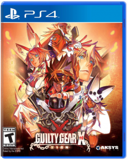 Диск Guilty Gear Xrd SIGN (Б/У) [PS4]