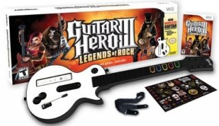 Диск Guitar Hero 3: Legends of Rock + Гитара Wireless Guitar [Wii]