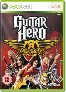 Диск Guitar Hero: Aerosmith [X360]