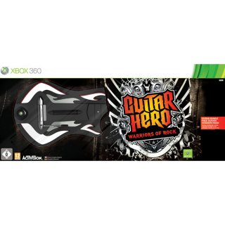 Диск Guitar Hero: Warriors of Rock Guitar Bundle (Игра + Гитара) [X360]