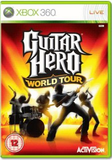 Диск Guitar Hero World Tour (Б/У) [X360]