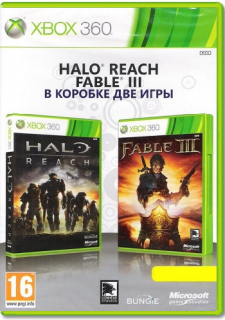 Диск Halo: Reach - Fable 3 Double Pack (Б/У) [X360]