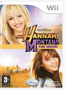 Диск Hannah Montana: The Movie [Wii]