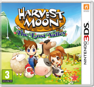 Диск Harvest Moon: The Lost Valley [3DS]