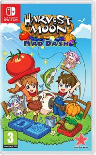 Диск Harvest Moon: Mad Dash [NSwitch]