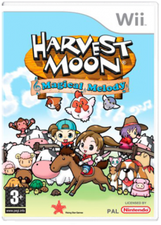 Диск Harvest Moon: Magical Melody [Wii]