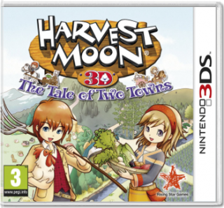 Диск Harvest Moon: Tale of Two Towns [3DS]