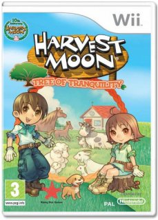 Диск Harvest Moon: Tree of Tranquility [Wii]