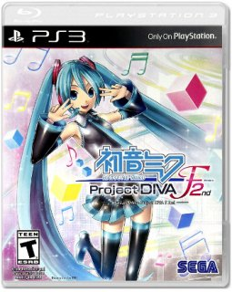 Диск Hatsune Miku: Project DIVA F 2nd (US) (Б/У) [PS3]