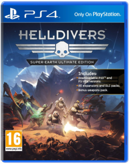 Диск Helldivers Super-Earth Ultimate Edition [PS4]