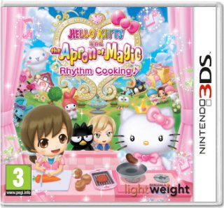 Диск Hello Kitty and the Arpon of Magic: Rhythm Cooking [3DS]