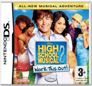 Диск High School Musical 2. Work This Out! [NDS]